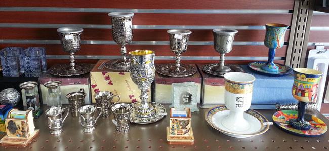Shabbat Kiddush Cups